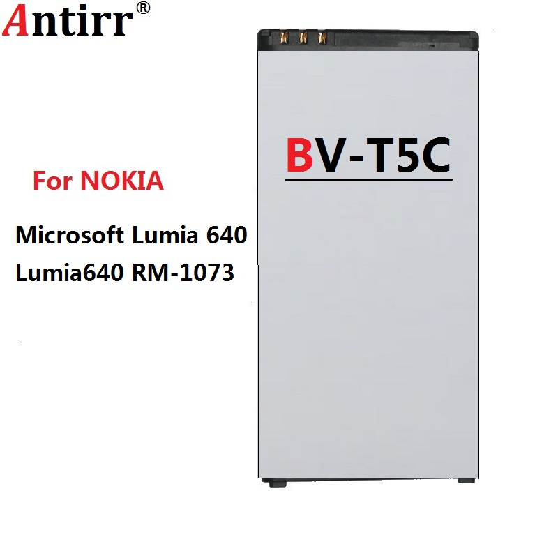 2500mAh 9 5Wh BV T5C BV T5C BVT5C Replacement Battery For Nokia Microsoft Lumia 640 Lumia640