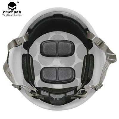 Sistema Táctico de retención de casco MICH H-Snape 3 colores Tan/negro