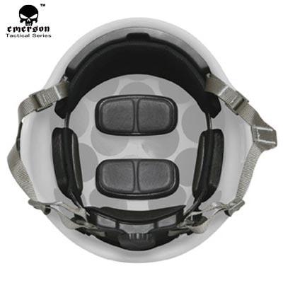 Tactical MICH Helmet Retention System H-Nape 3 Colors Tan/Black