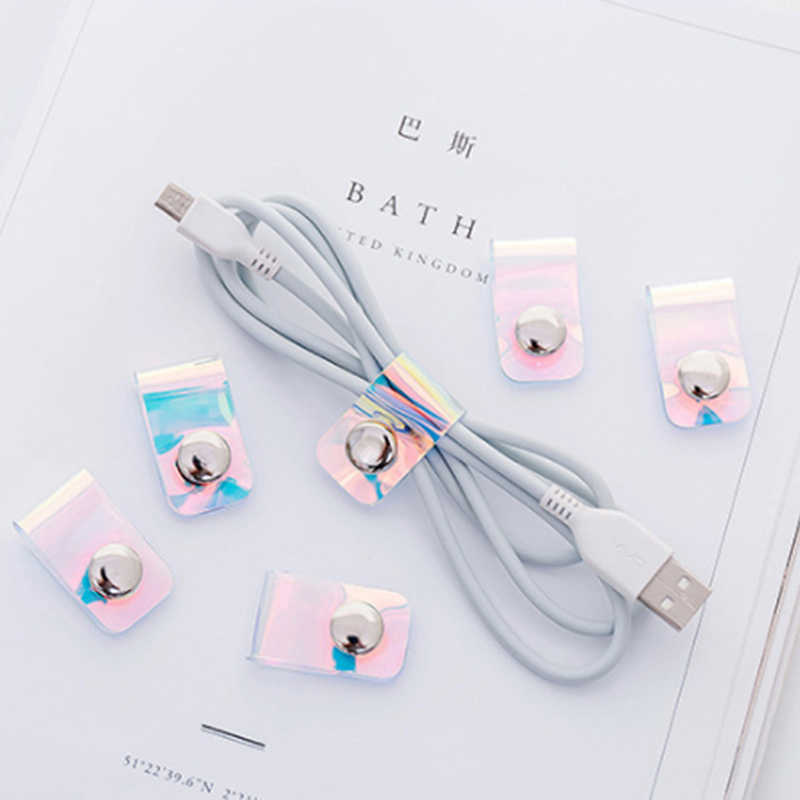 New Arrivals Cable Organizer Bobbin Winder Wire Protector Cord Management Marker Cable Wire Organizer For Earphone USB