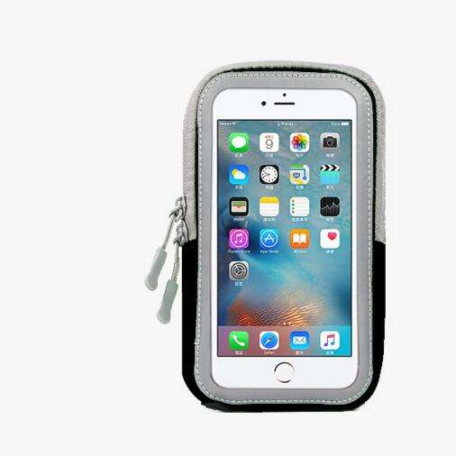 """5.8"""" Armband Waterproof Running Phone Band for iPhone 7 8 Plus X 5C 5S samsung S8 note8 Gym Arm Case Cover Screen Touch Belt Bag"""