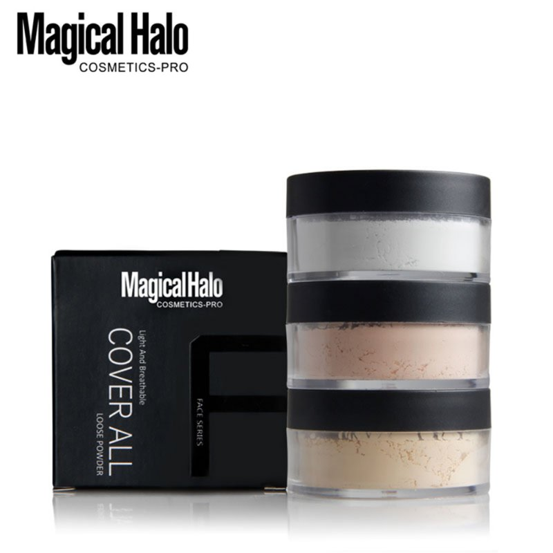 Oil Control Loose Powder Long Lasting Brightening Translucent Powder Waterproof 2018 New Recommend