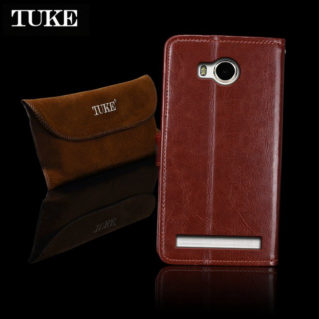 the best attitude 6b291 a4a35 US $4.08 5% OFF|TUKE For Lenovo S8 Play Case Flip Leather Back Cover For  Lenovo A5600 A5500 A5860 Case For Lenovo Golden Warrior S8 Play TPU Bag-in  ...