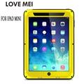 Love Mei Armor Cover Waterproof Case for iPad Mini 1 2 3 4 Retina Fundas Shell Housing Water/Dirt/Shock/Rain Proof for iPad Mini