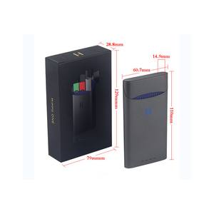 Image 1 - אוניברסלי תואם מטען עבור JUUL אלקטרוני סיגריה מטען 1500mAh 8 פעמים טעינה עבור שלך JUUL כל זמן