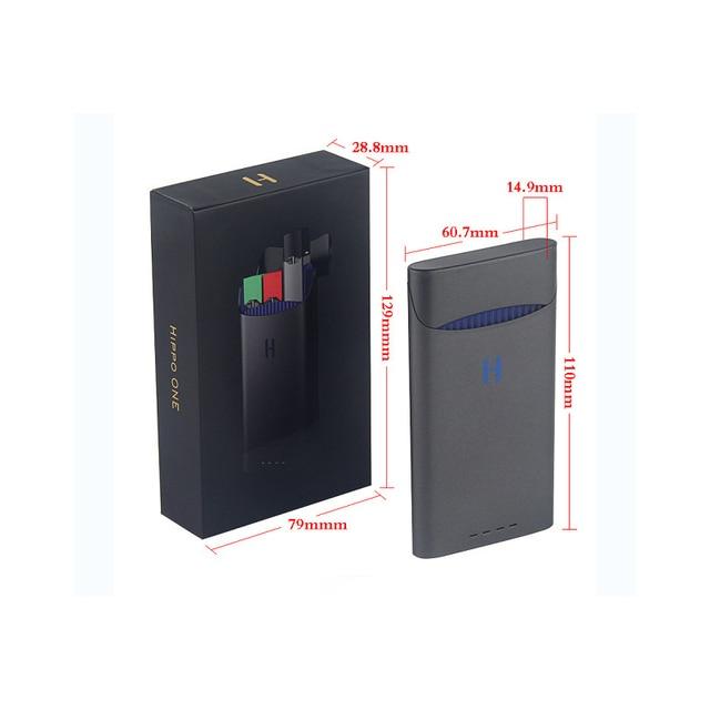 אוניברסלי תואם מטען עבור JUUL אלקטרוני סיגריה מטען 1500mAh 8 פעמים טעינה עבור שלך JUUL כל זמן