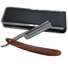 Handle Razor Handmade Wooden Handle Straight Razor Salon Barber Shaver Shaving Shavette Rasoi + Case