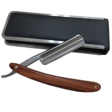 Handle Razor Handmade Wooden Handle Straight Razor Salon Barber Shaver Shaving Shavette Rasoi + Case