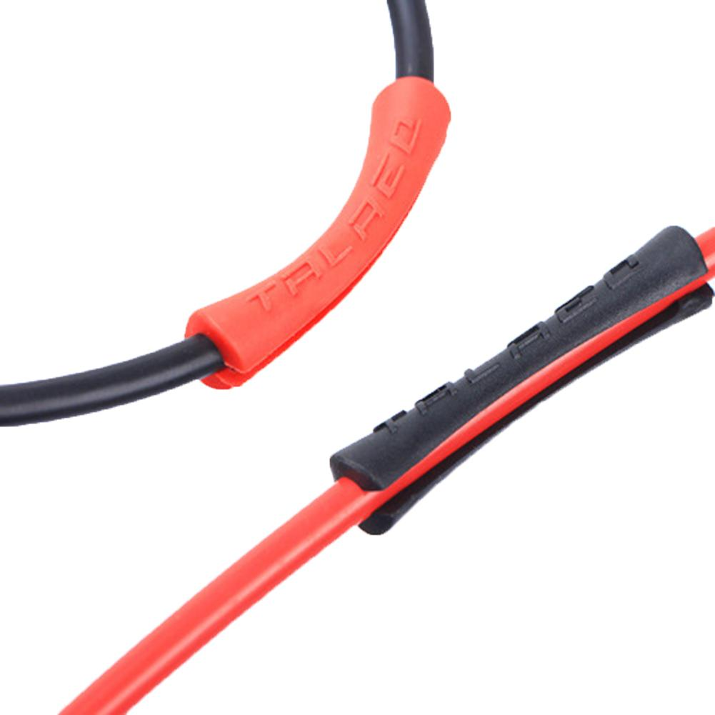 10pcs Red AICAN 4mm Alloy Bike Bicycle Shift Cable Housing End Caps Cover