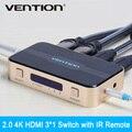 Vention 3 вход 1 выход HDMI Switcher Переключатель HDMI Splitter с Аудио для XBOX 360 PS3 PS4 Smart HD 1080 P 3 Вход на 1 Выхода