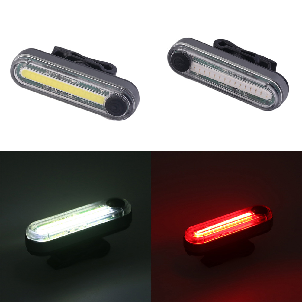 Portable Bike Lamp USB Rechargeable Waterproof 30 LED Cycling Taillight Bicycle Tail Rear Safety Warning Light new