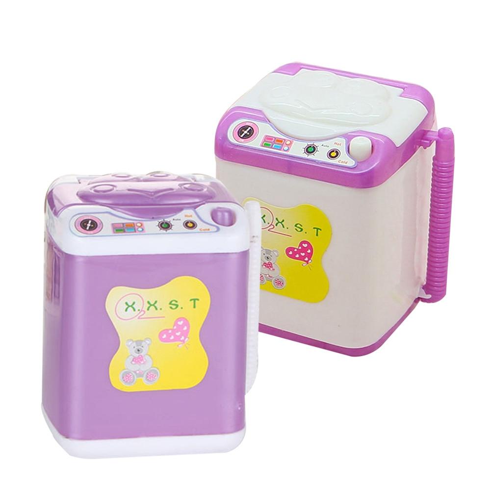 Mini Washing Machine Toy Furniture Water Dispenser Accessories Dolls Exquisite Gift For Child Kids
