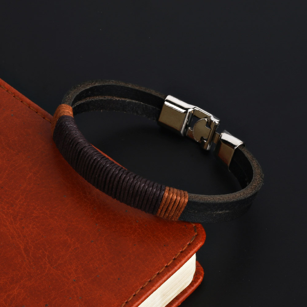 NAIQUBE 2018 Fashion Trendy Multiple Layer Bracelet For Men Women Vintage Charm Leather Bracelet for men women Jewelry Gift