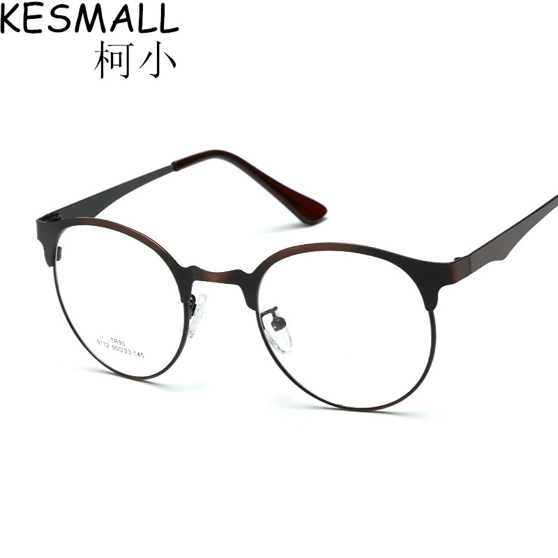 Vintage Optical Glasses Frame Women Fashion Light Alloy Glasses Frames Oculos De Grau Mens Gaming Glasses Frames Eyewear YJ259