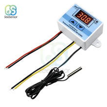 XH-W3001 W3001 Temperature Controller Digital LED AC 220V Thermometer Thermo Switch Probe Max 10A NTC10K