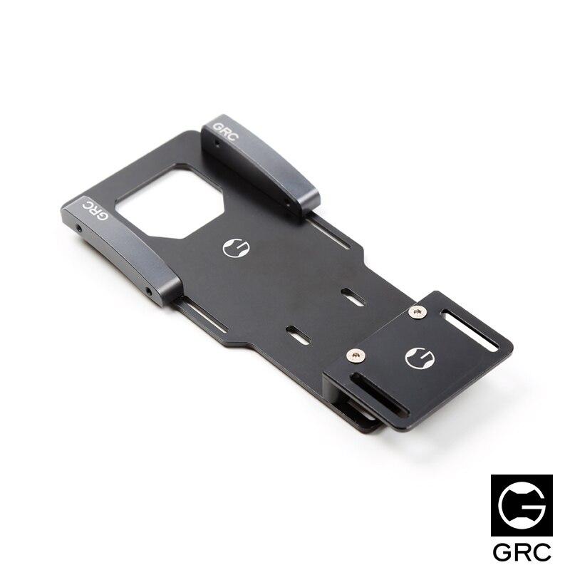 GRC 90046 faible center de gravité batterie soutien aéronautique en aluminium 7075 version SCX10 90046 batterie dilatation plat plaque