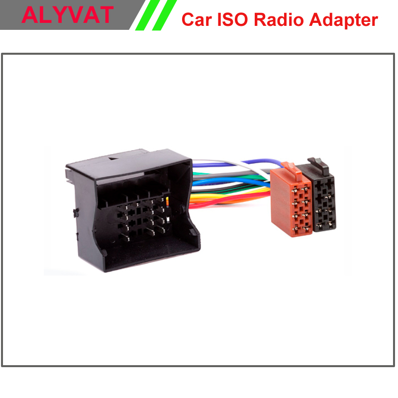 Car Stereo ISO Radio Plug For Ford Focus Fiesta Fusion Mondeo C-Max Transit Kuga Lead Loom Wiring Harness Wire Cable Adapter