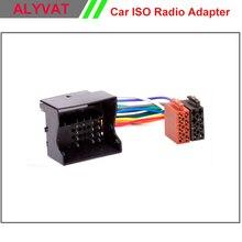 ISO Plug Radio Estéreo del coche Para Ford Focus Fiesta Fusión Mondeo C-max Tránsito Kuga Plomo Loom Cable de Alambre de Arnés de Cableado adaptador