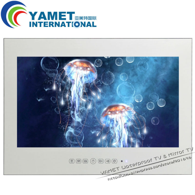 32 inch Yamet Mirror Android smart TV Mirror Television Hotel TV WIFI full HD 1080P HDMI