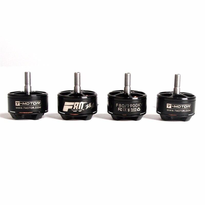 High Quality T-Motor F80 2408 1900KV 2200KV 2500KV Brushless Motor 2-6S For 220 250 FPV Racing Frame