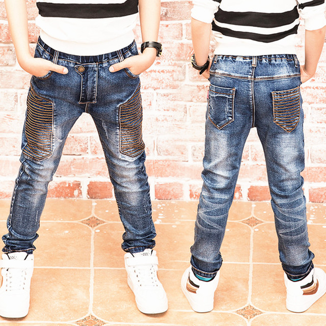 Jeans Boys ,spring and autumn The boy jeans, children wear fashionable style and high quality kids jeans  17101