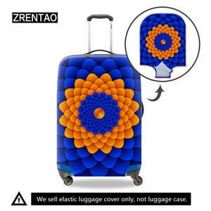 blue trolley case covers