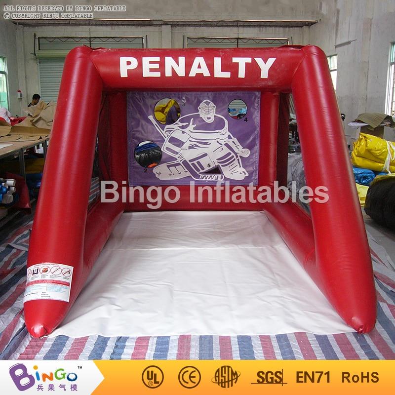 inflatable football gate soccer goal game for kids children 2.5x3.5x2m BG-G0047 sport games toy