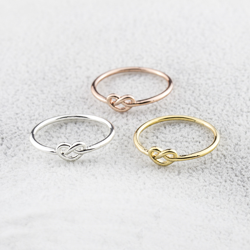 Hochzeits- & Verlobungs-schmuck Heeart Zu Herz Liebe Öffnung Tails Ringe Schmuck Silber Farbe Verlobungsring Für Frauen Doppel-herz Einstellbare Versprechen Ringe Verlobungsringe