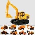 8 видов стилей мини инженерный автомобиль трактор игрушка самосвал Модель машинки для детей мальчик подарок - фото