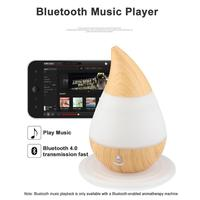 Multifuncational Water Droplets Aroma Air Humidifier USB Bluetooth Aroma Diffuser Househld Aromatherapy Essential Oil Diffuser