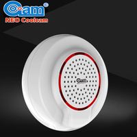 NEO COOLCAM Z Wave Wireless Siren Alarm Sensor Compatible With Z Wave Plus Sensor Home Automation