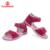 FLAMINGO marca 2016 nueva llegada del resorte NIÑOS ZAPATOS de moda de alta calidad de 100% cuero genuino sandalias de los niños para la muchacha QS5726