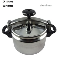 free shipping 7LITRE 24cm explosion proof pressure cooker aluminum pressure cooker cooking pot