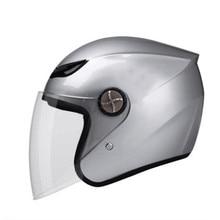 O envio gratuito de venda Quente 788 Da Motocicleta capacete jet capacete Aberto rosto retro Do Vintage 3/4 meia casco do capacete capacete moto motociclismo