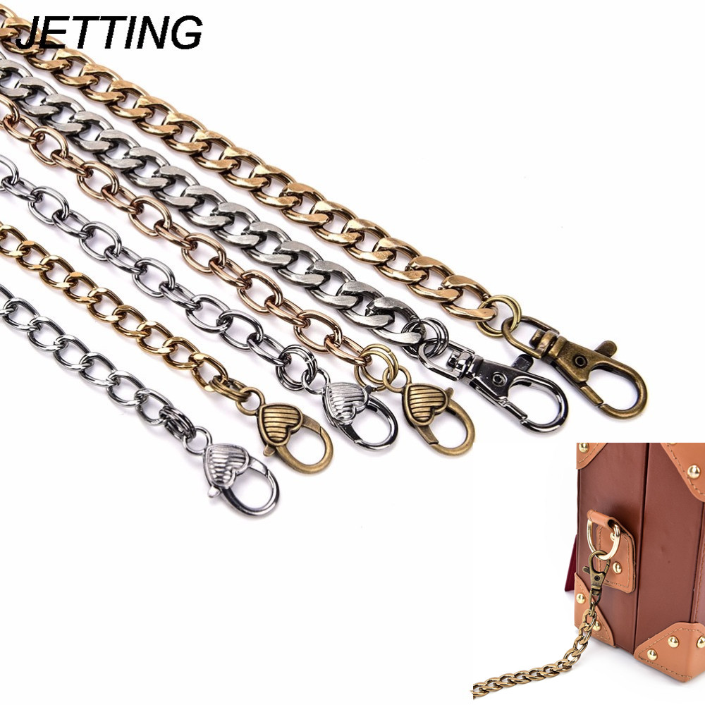 High Quality 120cm Metal Purse Chain Women's Handbag Hanles And Shoulder Straps Chain Diy Chain Bag Strap Chain Dropshipping