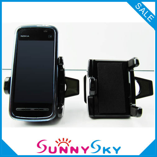 SD-1107 Black White Universal Silicone Rubber Skidproof Car Interior Accessories Mobile Phone holders Shelves Car cell holder