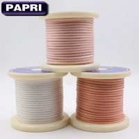PAPRI 16 Cores Teflon Silver OCC Wire 6N Cable For Hifi Headphone Earphone Headset Speaker DIY