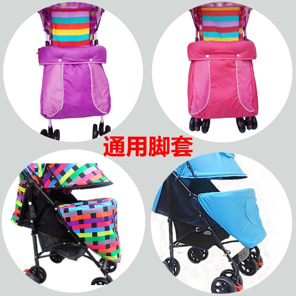 New Winter Baby Strollers Baby Stroller Car General Foot Set Foot Cover Thickened Cover Retaining Cold Warm ...