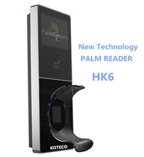 Palm Reader access control biometric Palm Security with TCP/IP software available HK6 Palm vein scanner professional