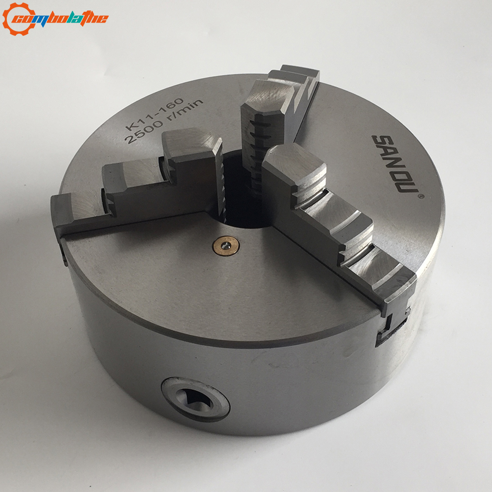 3 Jaw Lathe Chuck Self-centering 160mm Manual Type Hardened Steel For Small Bench Lathe From China
