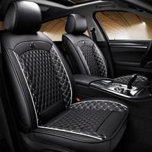 цена на (Front + Rear) Special Leather car seat covers For Skoda fabia 1 3 karoq kodiaq octavia 1 2 octavia a5 a7 octavia rs tour rapid