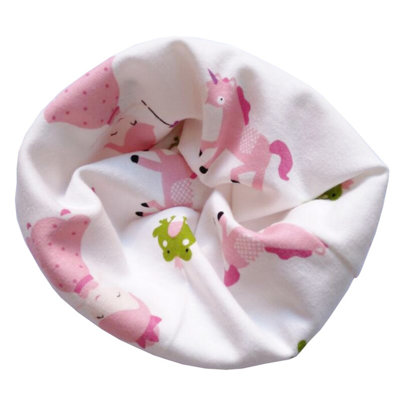 Новинка; Модный хлопковый шарф для маленьких девочек; осенне-зимний шарф для маленьких мальчиков; Детский шарф с круглым вырезом; Детские шарфы; волшебный шейный платок - Цвет: Princess Girls
