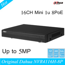 Original CCTV Dahua NVR4116H-8P 16CH Network Video Recorder Support English and Onvif NVR 16 channel