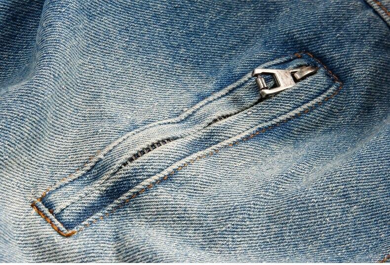 Пишет прибытие осени зимы мужчины джинсовая куртка утолщение теплый джинсовая куртка мужская жан пальто согреться куртка тонкий вниз куртка a3762