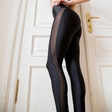 Yoga Pants Women Sexy Stitching Breathable Gym Leggings
