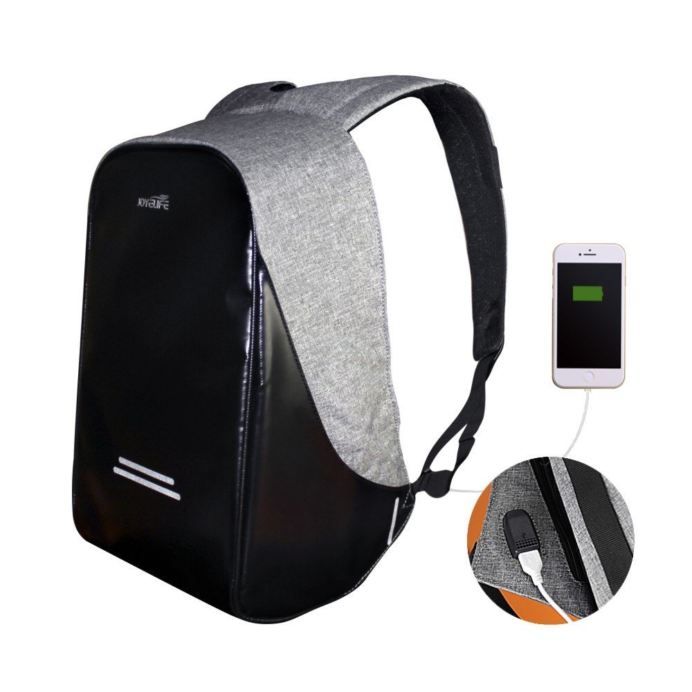 Multifunctional Men Laptop bags Backpack 15.6 Inch Waterproof theft Proof USB Charge Computer Backpack Oxford bag with raincover