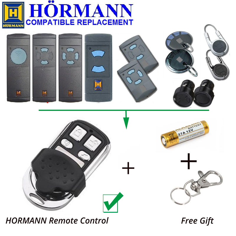 Hormann HSM HS HSZ Fixed Code Hand Remote Control Clone/Duplicator 868.3MHz