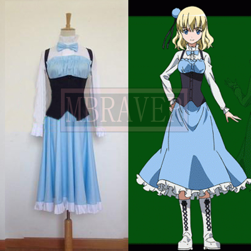 Akame Ga Kill Cosplay Aria Dress Costume Any Size