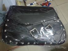 Free shipping motorcycle conversion Bag box hanging box side edging tool kit with rivets saddle bag satchel-bag