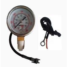 CNG Göstergesi basınçlı manometre Gaz Seviye Göstergesi Sıralı Enjeksiyon Sistemi için Benzinli Arabalar